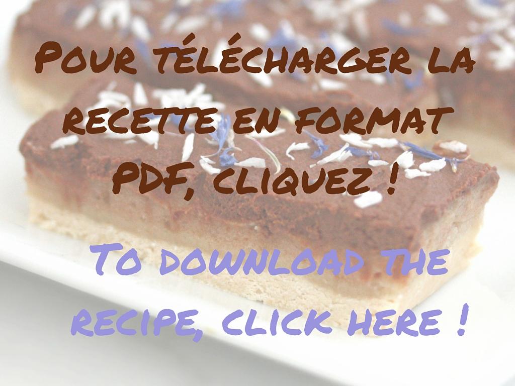 Pour télécharger la recette en format PDF, cliquez !