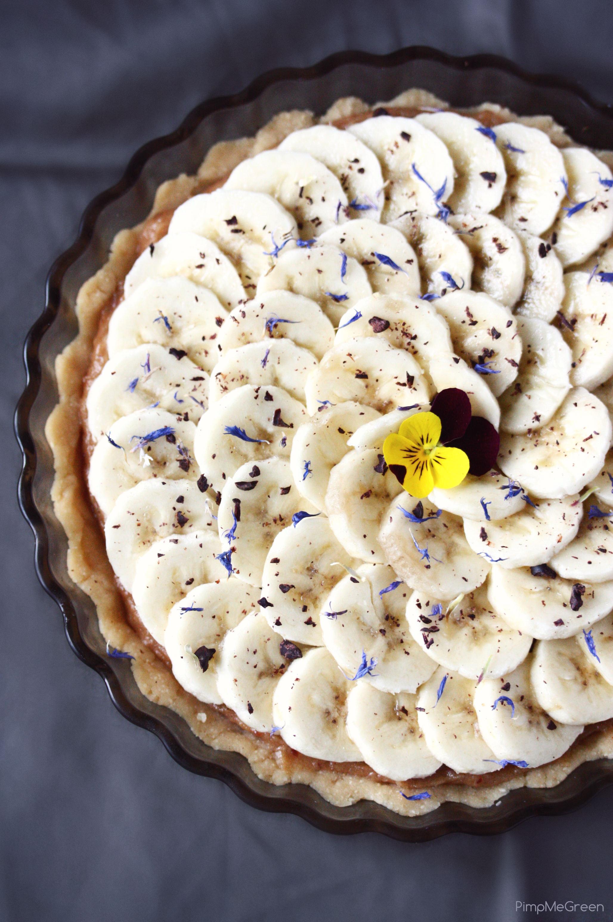 raw banana tart 1