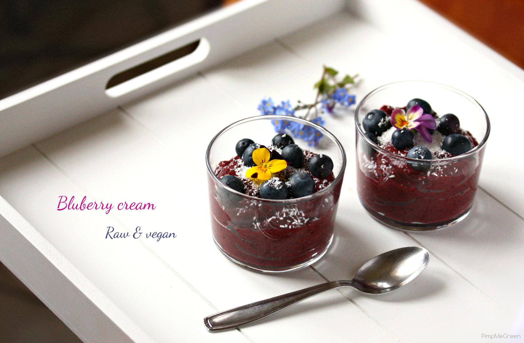 Blueberry cream dessert 5 titled