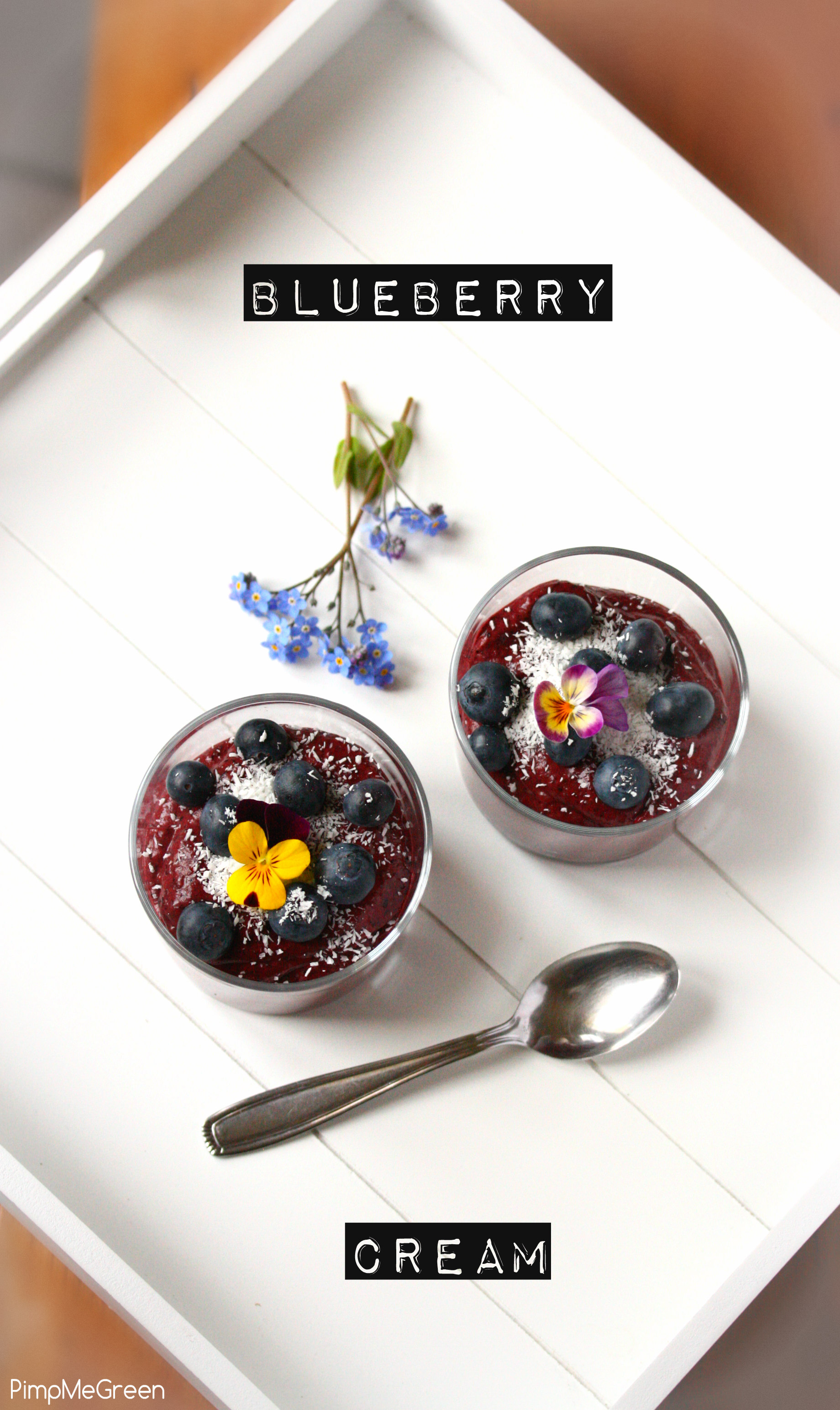 Blueberry cream dessert 6 titled