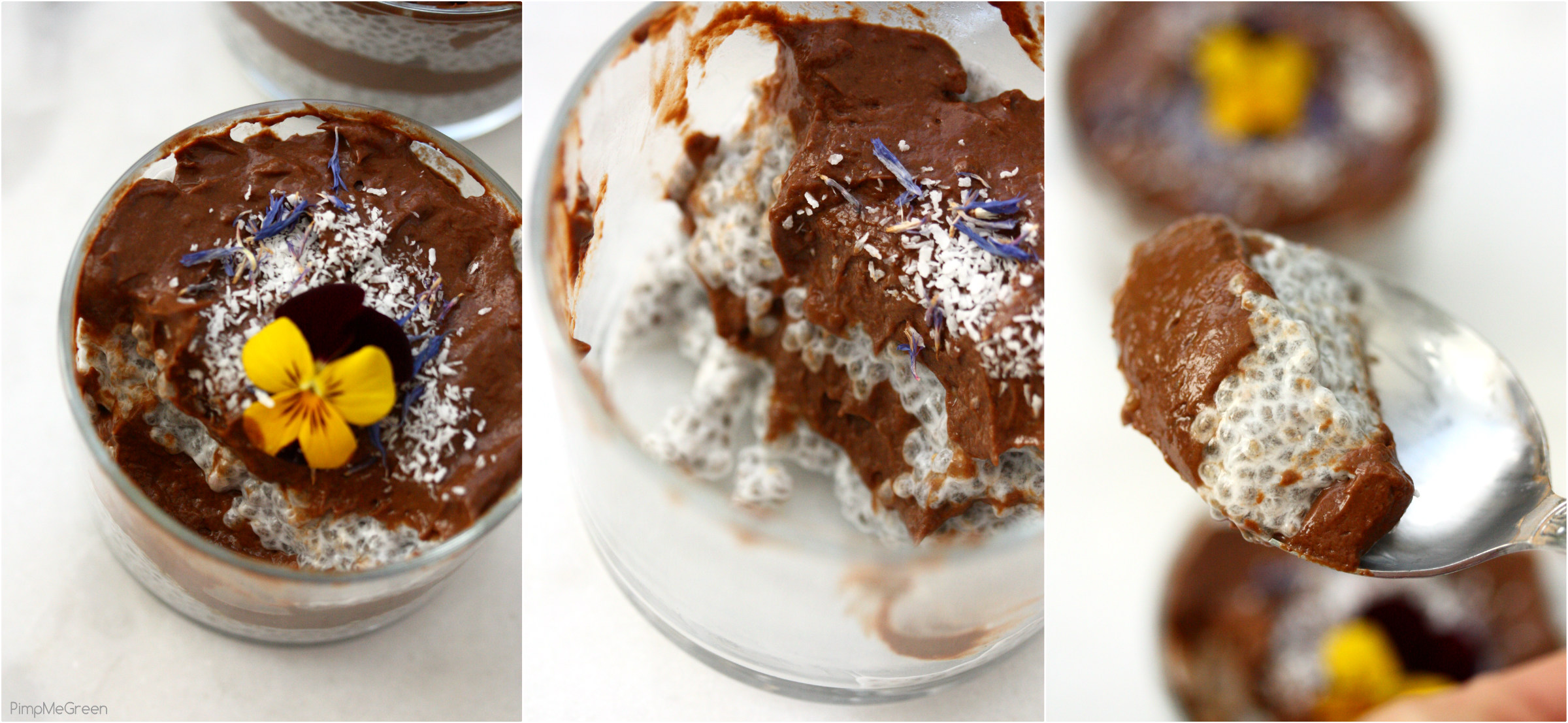 Chocomole pudding Collage PMG