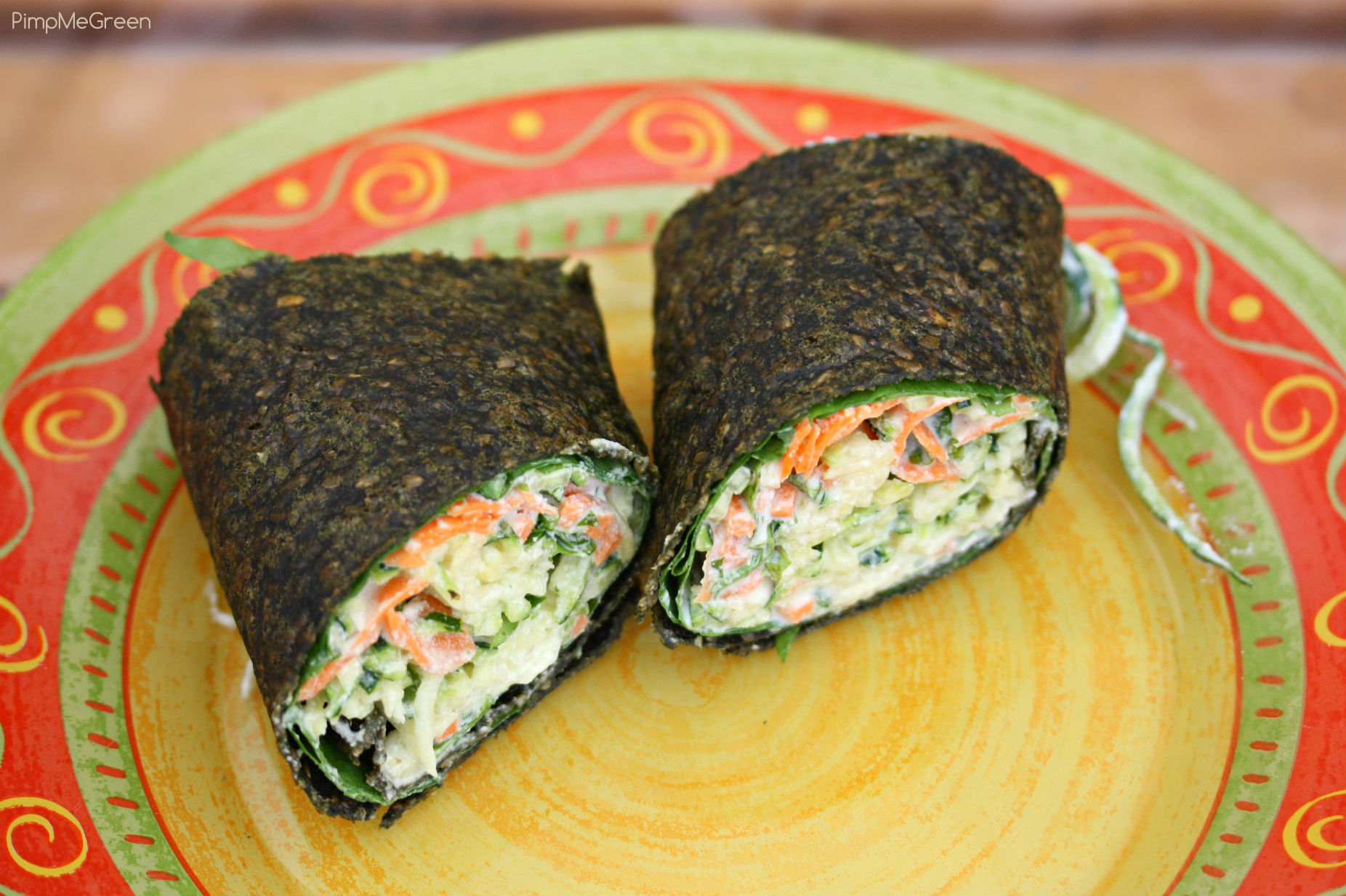 Raw wraps ortie