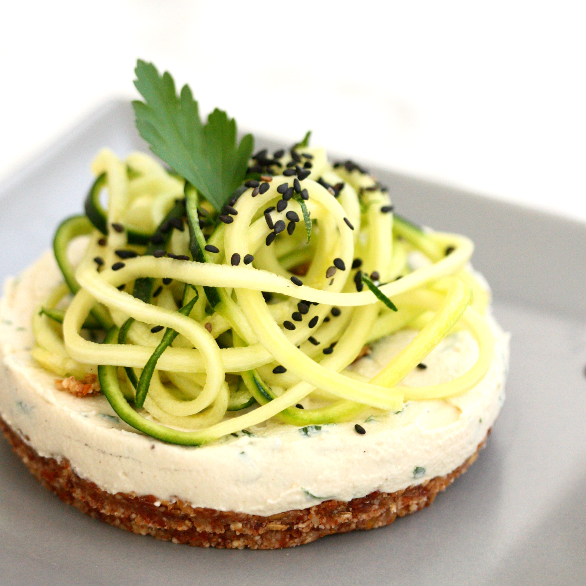 cheesecake courgette