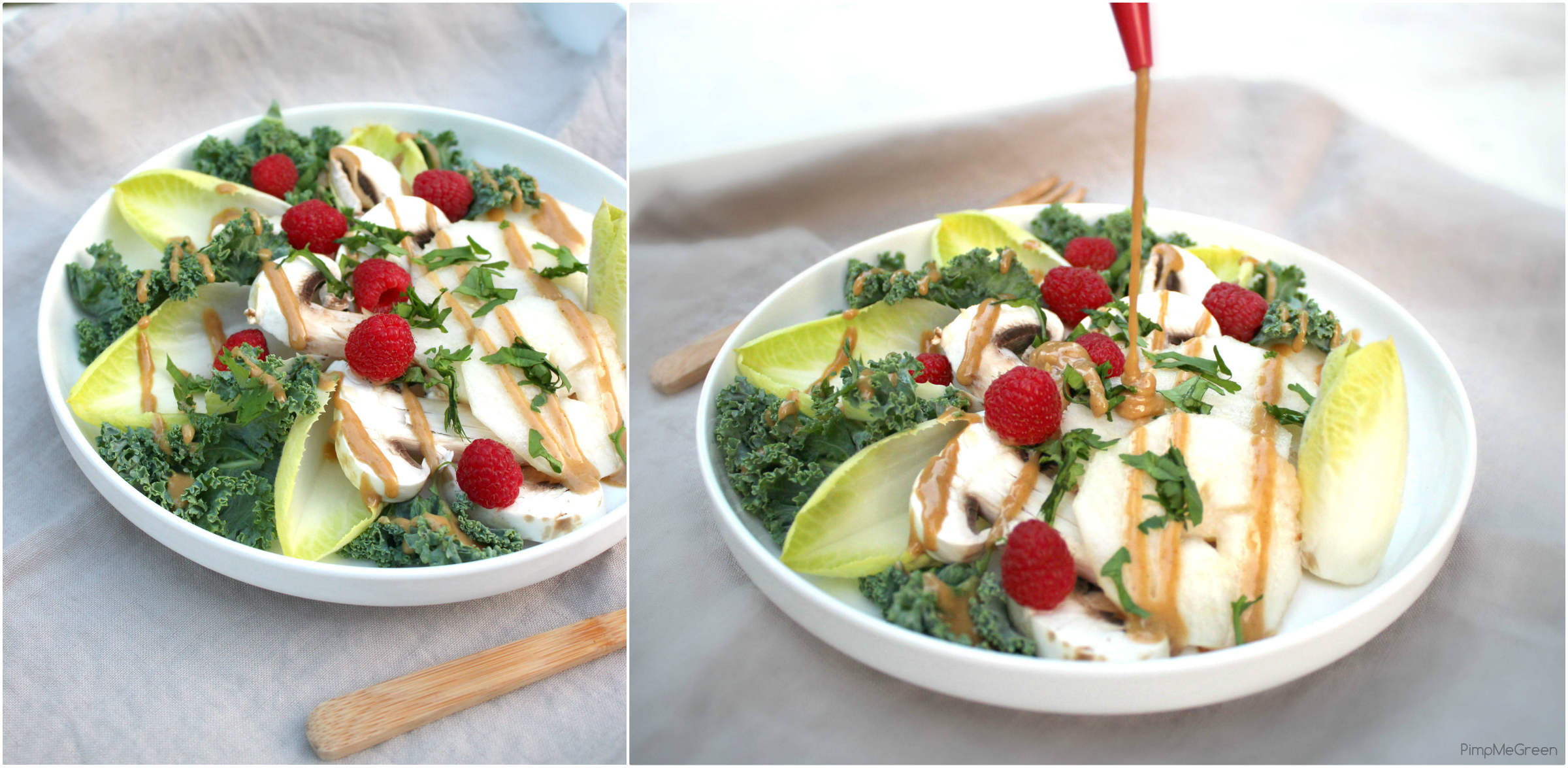 salade endive poire