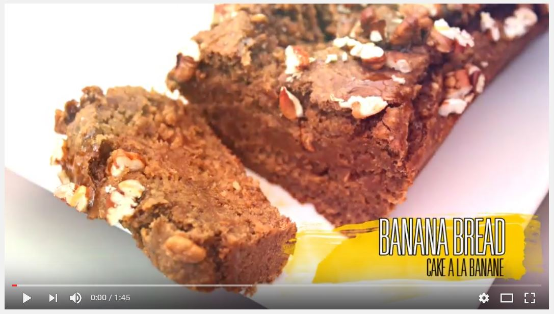 Capture banana bread
