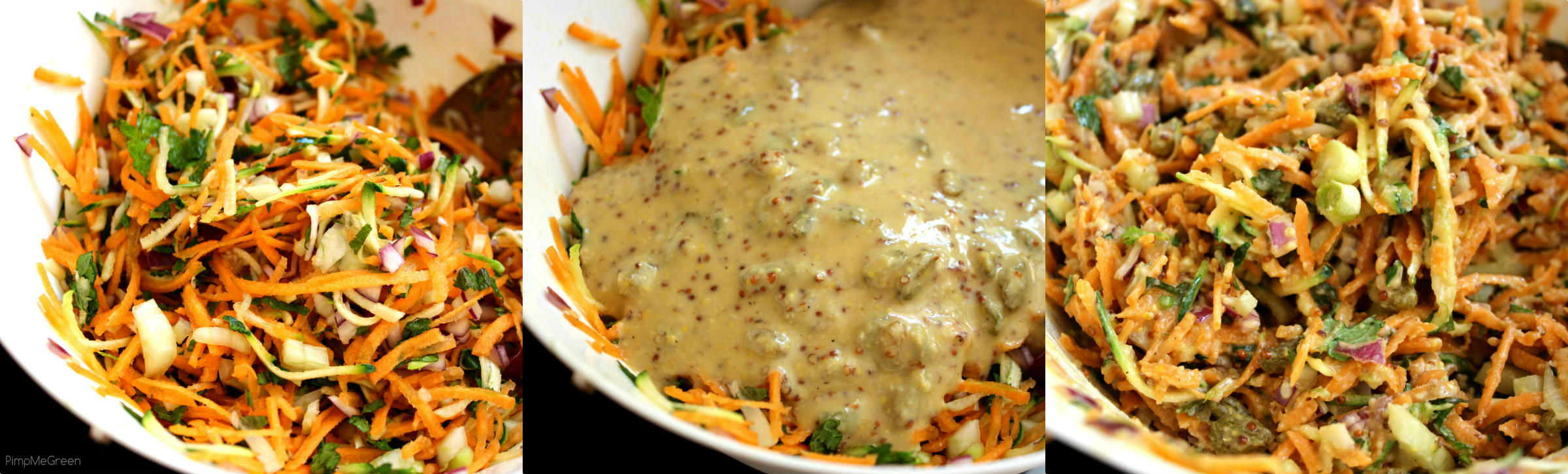 Collage salade carotte PMG