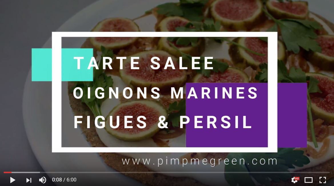 Capture tarte salée figues