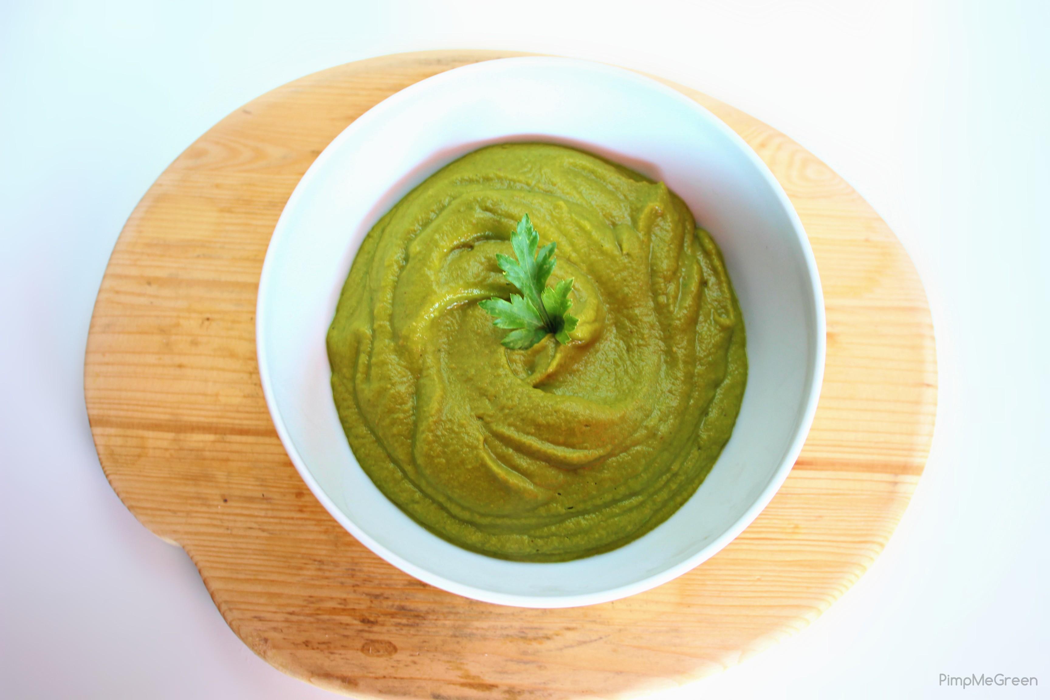 purée brocoli patate douce