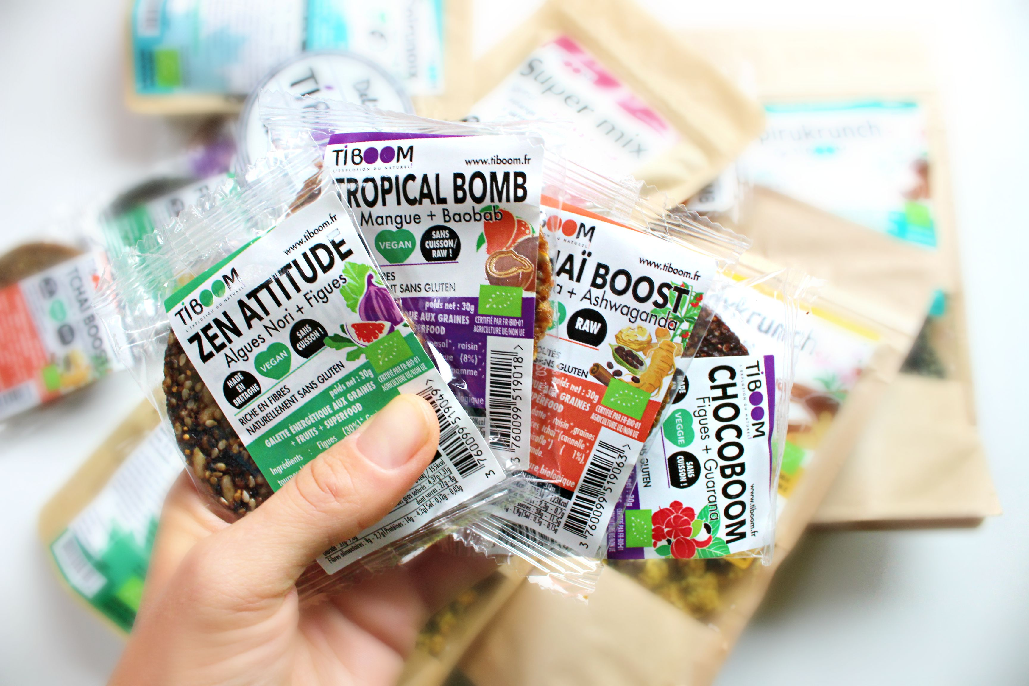 Tiboom raw food