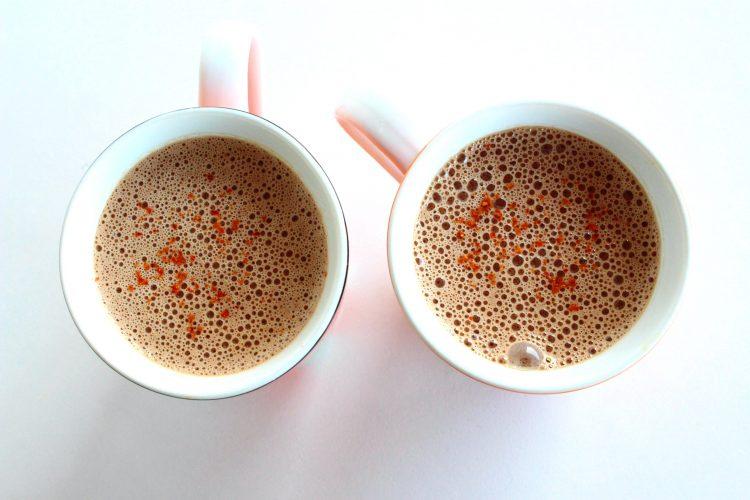 Chocolat chaud végétalien sans produit laitier